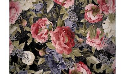 Consalnet Papiertapete »Muster mit roten Blumen«, floral kaufen