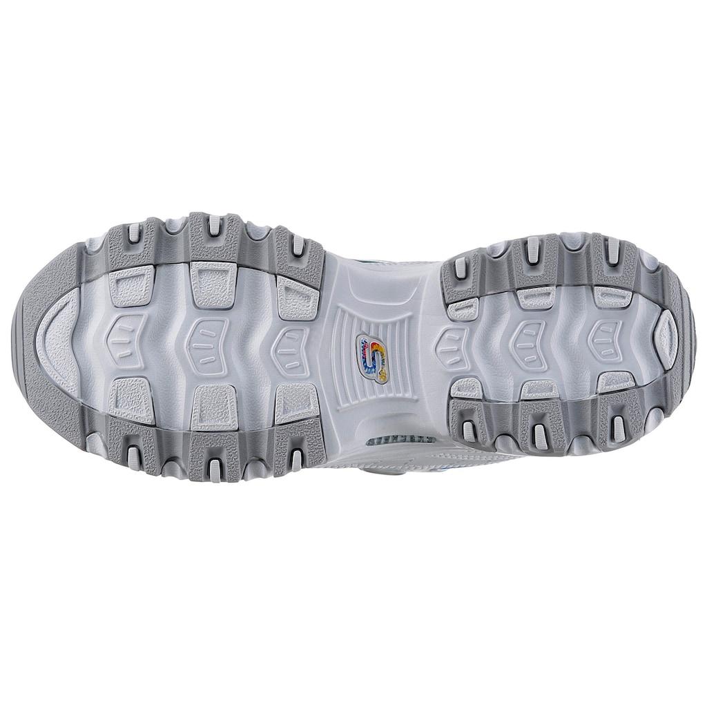 Skechers Sneaker »D´Lites - Summer Fiesta«, mit Batik-Einsätzen