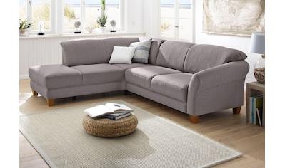 Home affaire Ecksofa »Gotland«, wahlweise mit Sitztiefenverstellung + Bettkasten kaufen