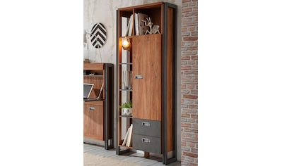 Home affaire Standregal »Detroit«, Höhe 202 cm, im angesagten Industrial Look kaufen