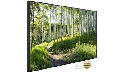 Papermoon Infrarotheizung »EcoHeat - Birkenwald«, Aluminium, 750 W, 60 x 120 cm, mit... kaufen