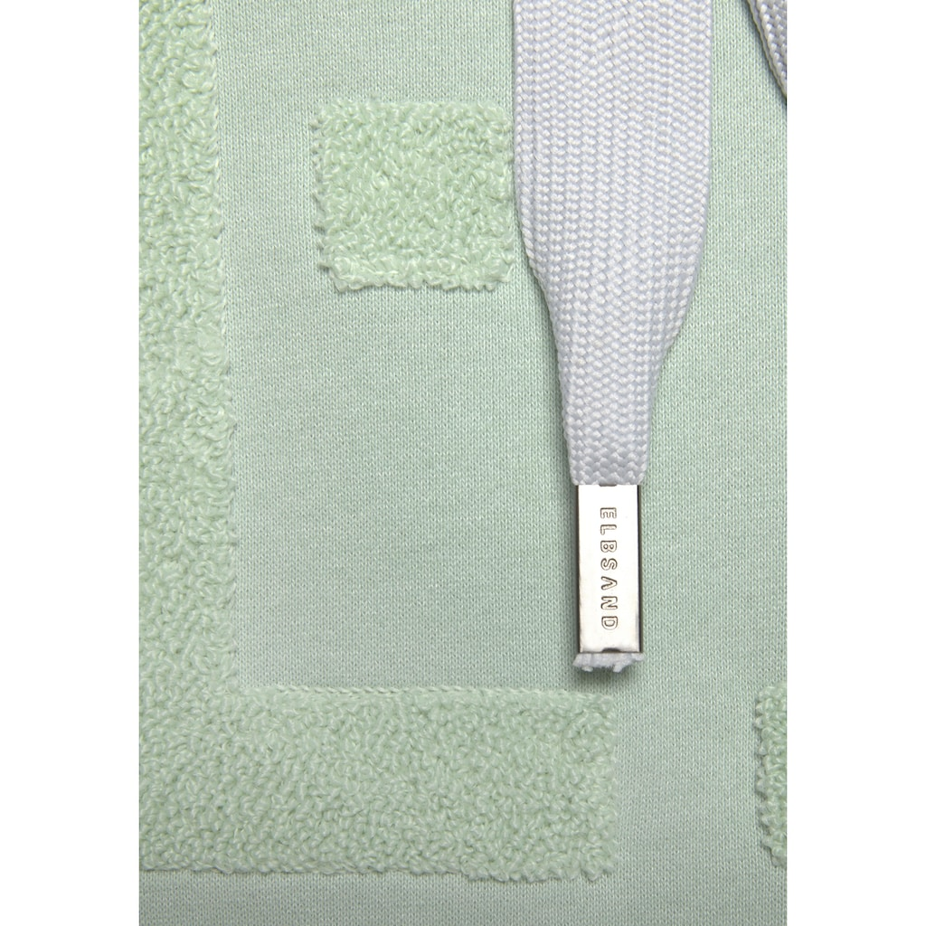 Elbsand Sweatshirt »Arndis«, mit weicher Applikation