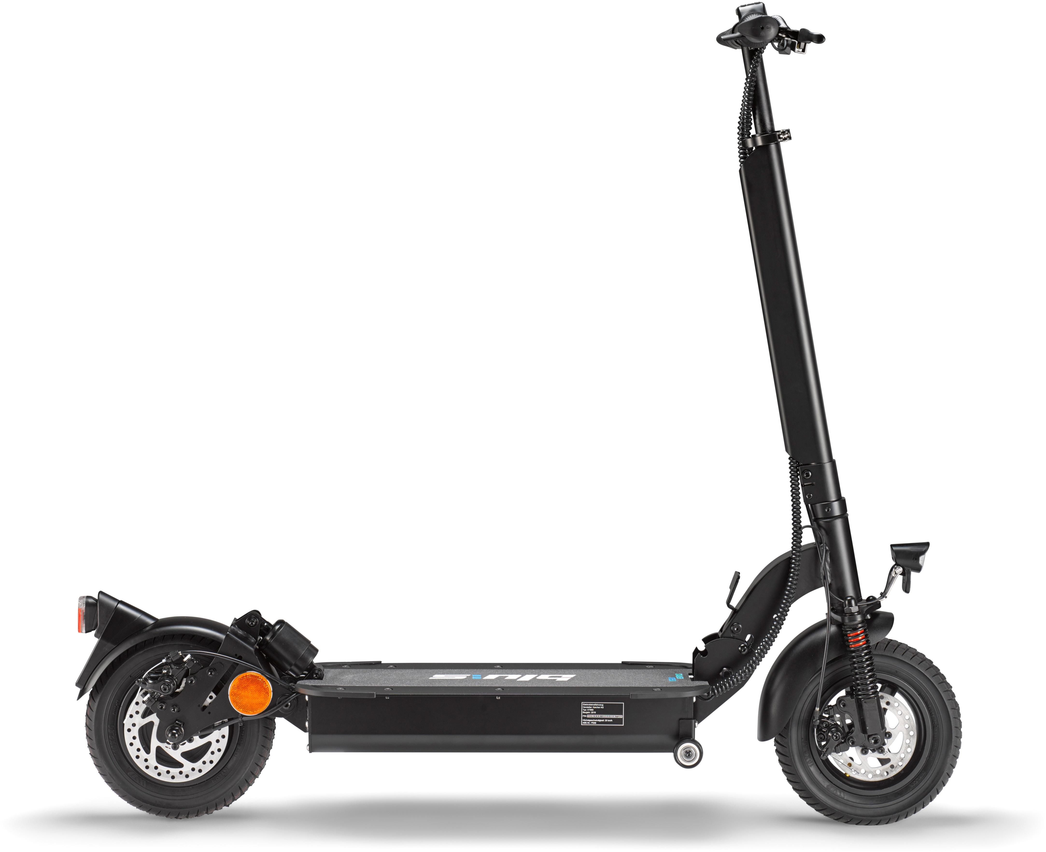 Blu:s E-Scooter XT950 schwarz Elektroscooter Elektroroller Motorroller Mofas