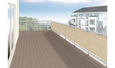 FLORACORD Balkonsichtschutz BxH: 500x90 cm, sisal kaufen