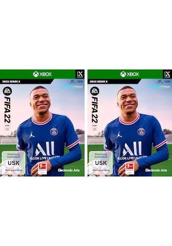 Electronic Arts Spiel »FIFA 22 Doppelpack«, Xbox Series X kaufen