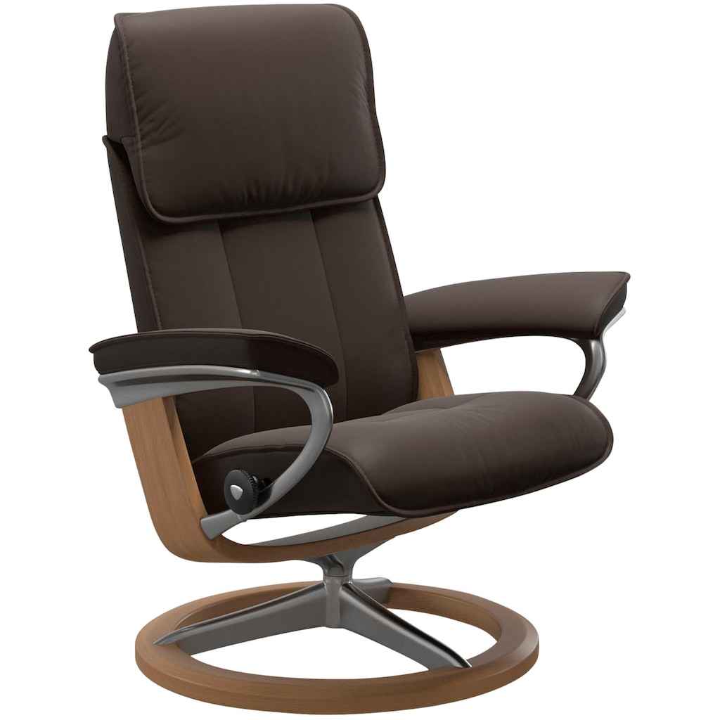 Stressless® Relaxsessel »Admiral«, mit Signature Base, Größe M & L, Gestell Eiche