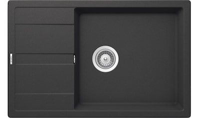 SCHOCK Granitspüle »Manhattan D - 100LS«, kurze Tropffläche, 78 x 50 cm kaufen