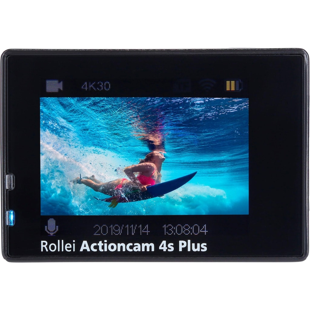 Rollei Action Cam »4S Plus«, 4K Ultra HD, WLAN (Wi-Fi)