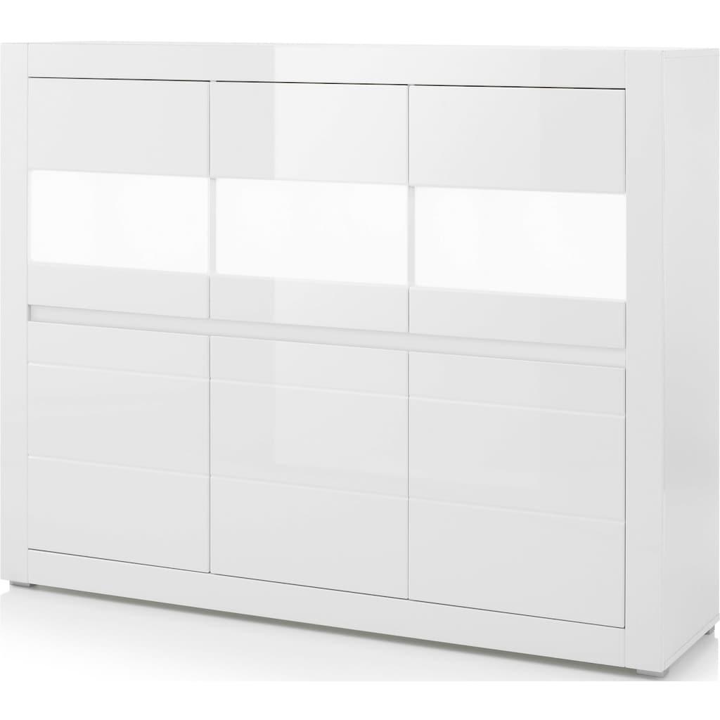 INOSIGN Highboard »Carat«, Breite 164 cm