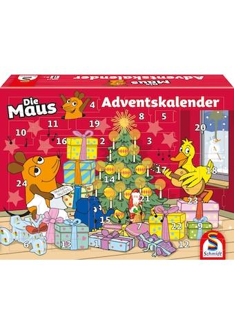 Schmidt Spiele Adventskalender »Die Maus«, ab 5 Jahren kaufen