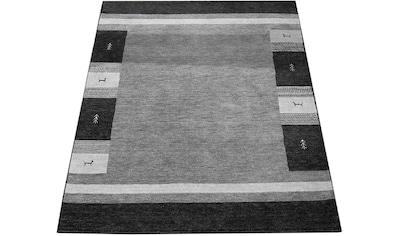 Paco Home Teppich »Gabbeh 308«, rechteckig, 14 mm Höhe, handgefertigter Kurzflor,... kaufen