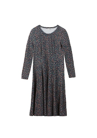 Sandwich A-Linien-Kleid, mit langen Ärmeln kaufen