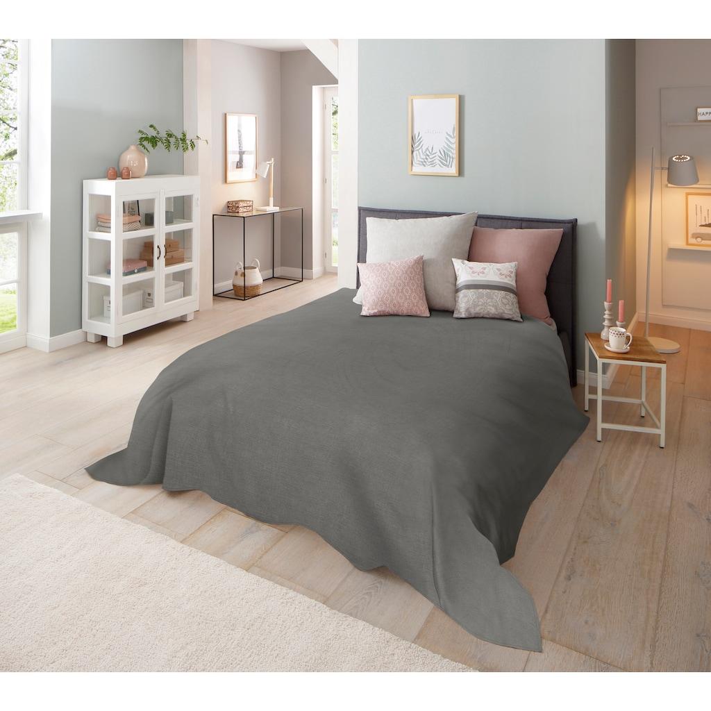 Home affaire Tagesdecke »Melli«, auch als Tischdecke und Sofaüberwurf einsetzbar