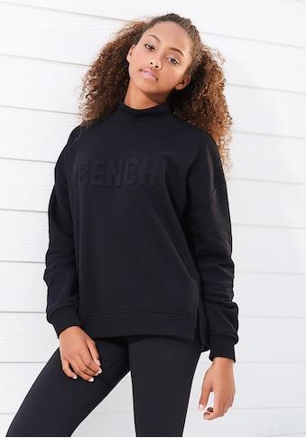 Bench. Sweatshirt, mit Seitenschlitzen kaufen