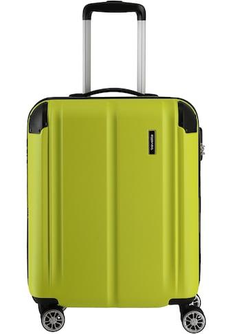 travelite Hartschalen-Trolley »City, 55 cm, limone«, 4 Rollen kaufen