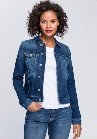 Tommy Jeans Jeansjacke »VIVIANNE SLIM TRUCKER NNMBS«, mit Tommy Jeans Branding Knöpfen... kaufen