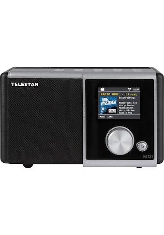 TELESTAR Radio, USB Musikplayer, MP3, WMA, AAC, WiFi »M 12i« kaufen