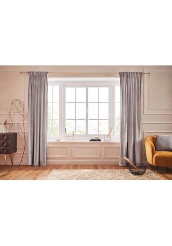 Guido Maria Kretschmer Home&Living Vorhang »SAMT«, blickdicht, monochrom, Samt Optik,... kaufen