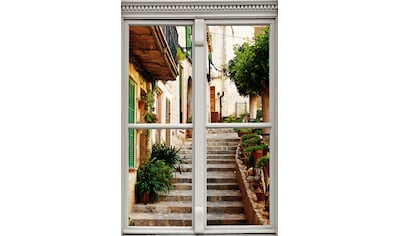 queence Wandsticker »Treppe am Haus« kaufen