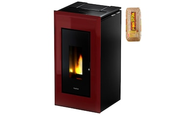 FREEPOINT Pelletofen »Vega airtight«, Stahl, 11 kW, Dauerbrand, inkl. 15 kg Firestixx Holzpellets kaufen