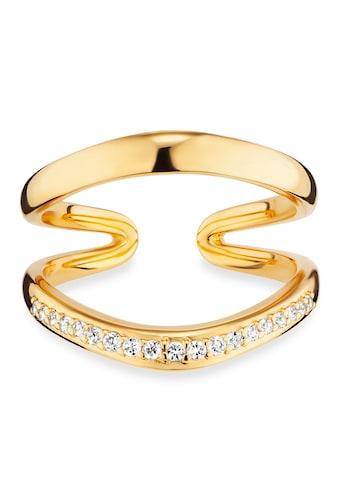 CAÏ Ring »925/ -  Sterling Silber vergoldet Topas« kaufen
