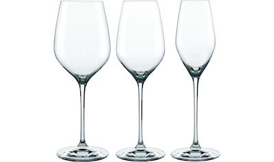 SPIEGELAU Gläser-Set »Topline«, (Set, 18 tlg., Fassungsvermögen: RW 810ml, WW 500ml,... kaufen