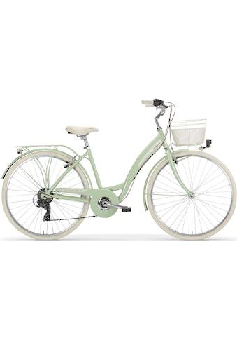 MBM Cityrad »NEW Primavera«, 6 Gang, Shimano, TY300 Schaltwerk, Kettenschaltung kaufen