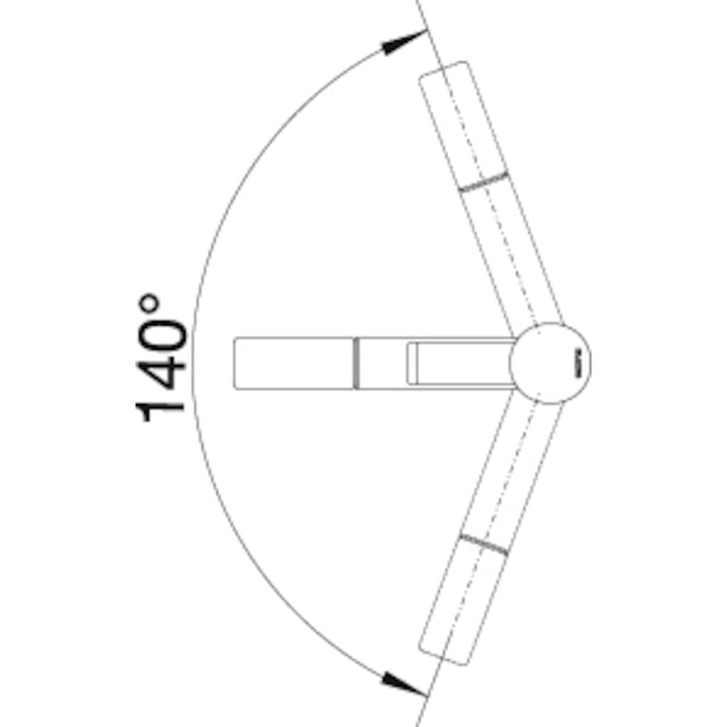 Blanco Küchenarmatur »ZENOS-S«, Hochdruck, mit ausziehbarem Auslauf