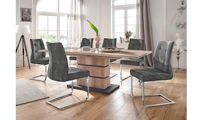 Homexperts Essgruppen - Set »Bonnie«, Tisch mit 4 Stühlen kaufen