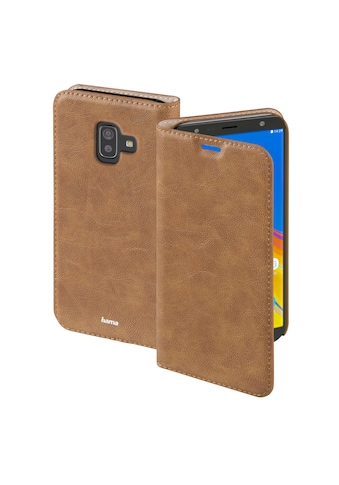 Hama Booklet Handy Smartphone Tasche Hülle Samsung Galaxy J6+ »Guard Case« kaufen