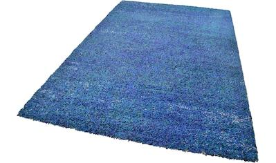 THEKO Hochflor-Teppich »Color Shaggy 521«, rechteckig, 35 mm Höhe, handgewebt, Wohnzimmer kaufen