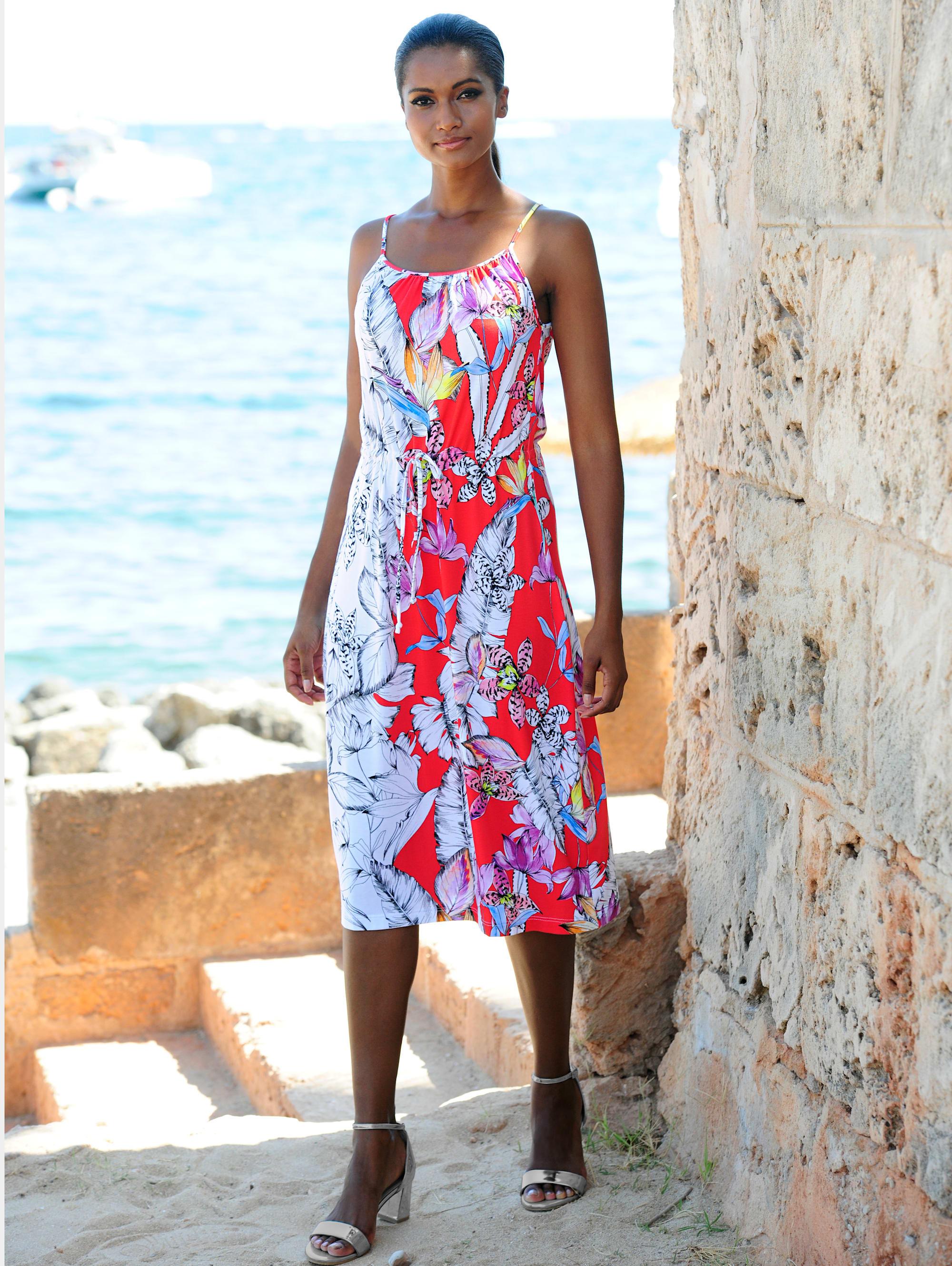 Alba Moda Strandkleid mit Spaghettiträgern   Bekleidung > Kleider > Strandkleider   Alba Moda