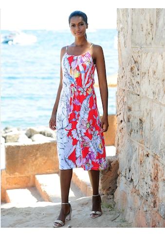 Alba Moda Strandkleid mit Spaghettiträgern kaufen