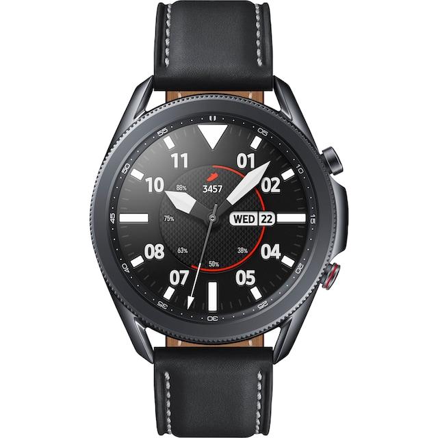 Samsung Galaxy Watch 3, Edelstahl, 45 mm, LTE (SM-R845) Smartwatch (3,4 cm / 1,4 Zoll, Android Wear)