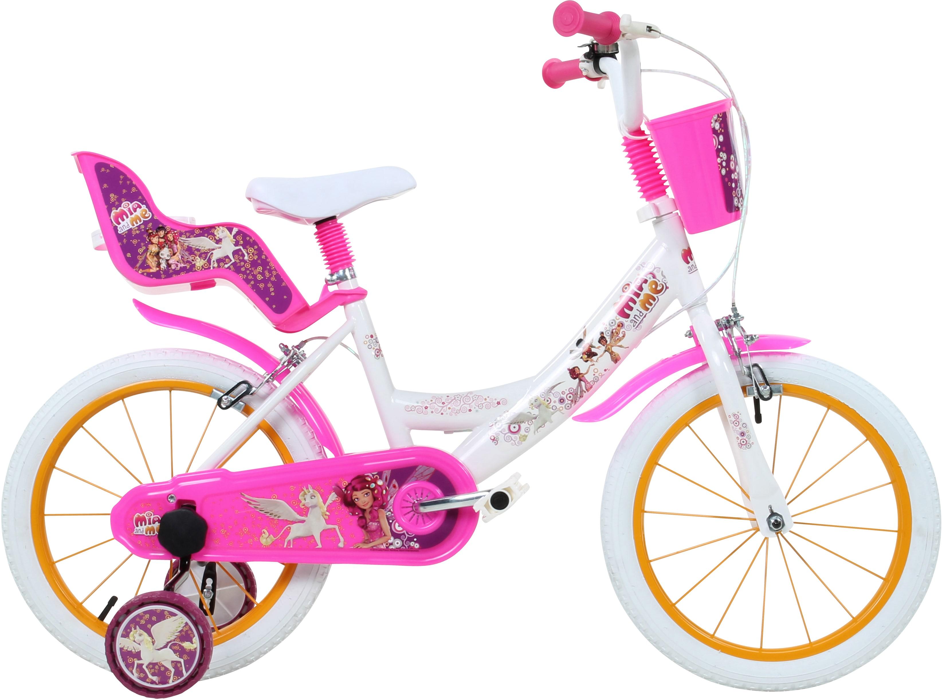 Mia and me Kinderfahrrad weiß Kinder Kinderfahrräder Fahrräder Zubehör