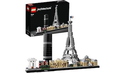 LEGO® Konstruktionsspielsteine »Paris (21044), LEGO® Architecture«, (649 St.), Made in Europe kaufen