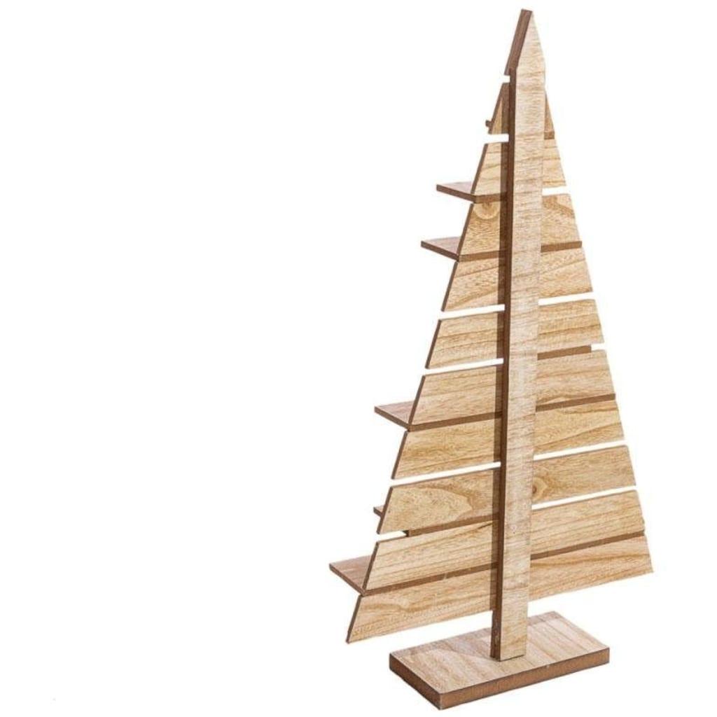 Dekobaum »Tannenbaum«, mit Präsentationsfläche