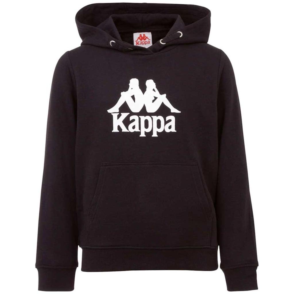 Kappa Kapuzensweatshirt »AUTHENTIC TAINO KIDS«, mit plakativem Logoprint<br />