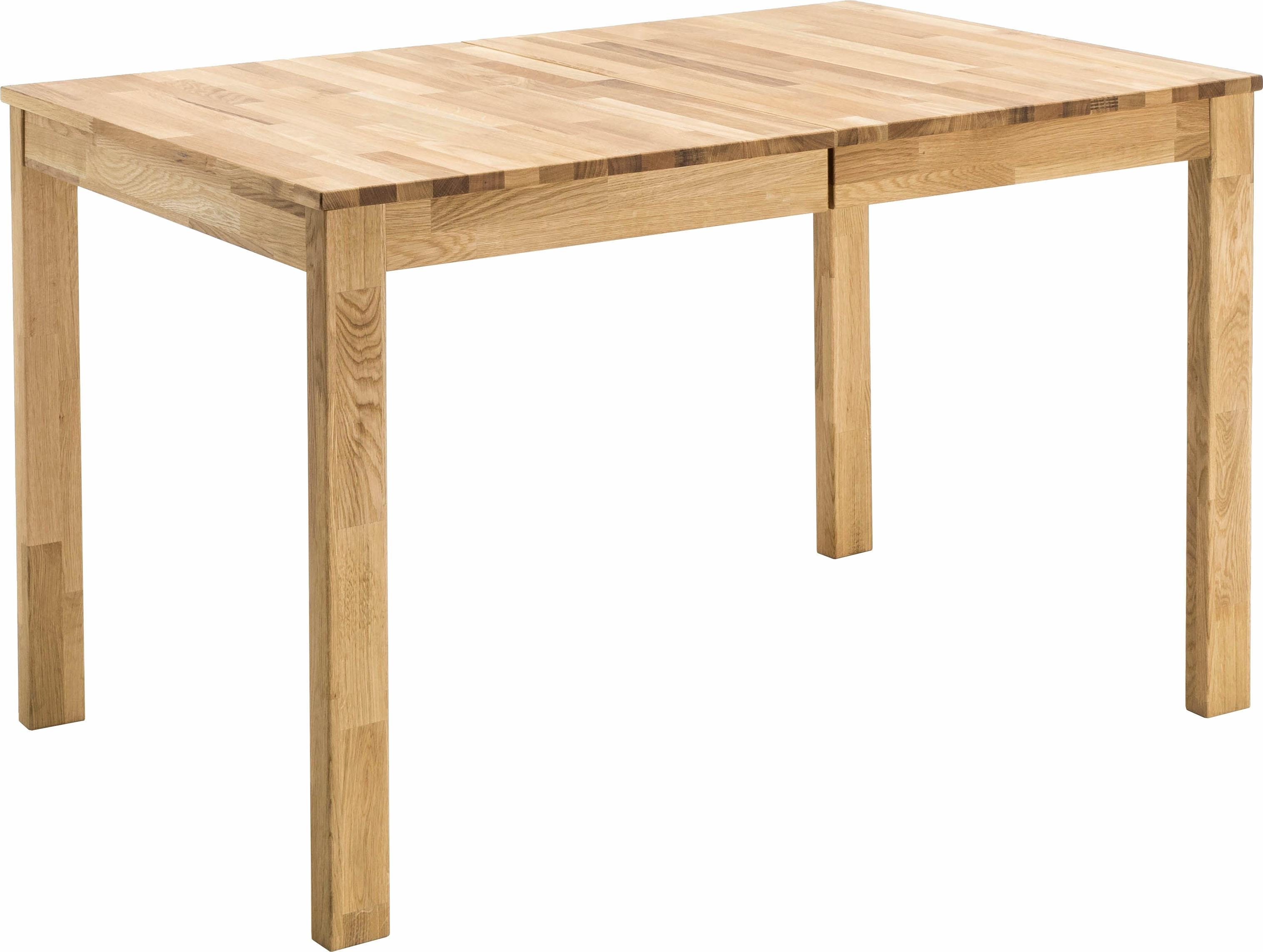 MCA living Esstisch Fabian, Breite 125 cm, ausziehbar auf 165 cm beige Ausziehbare Esstische Tische