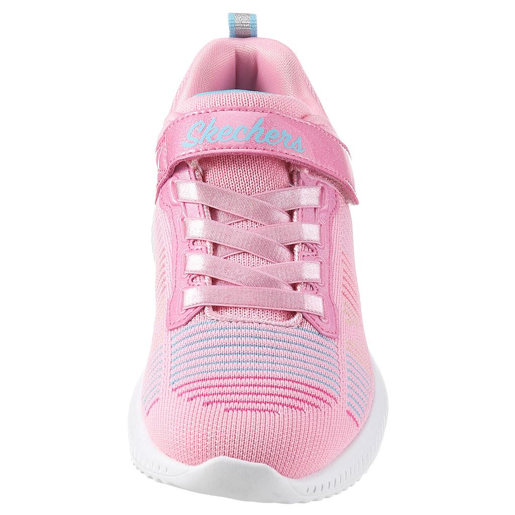 Skechers Kids Sneaker »BOBS SQUAD«, mit gepolstertem Schaftrand