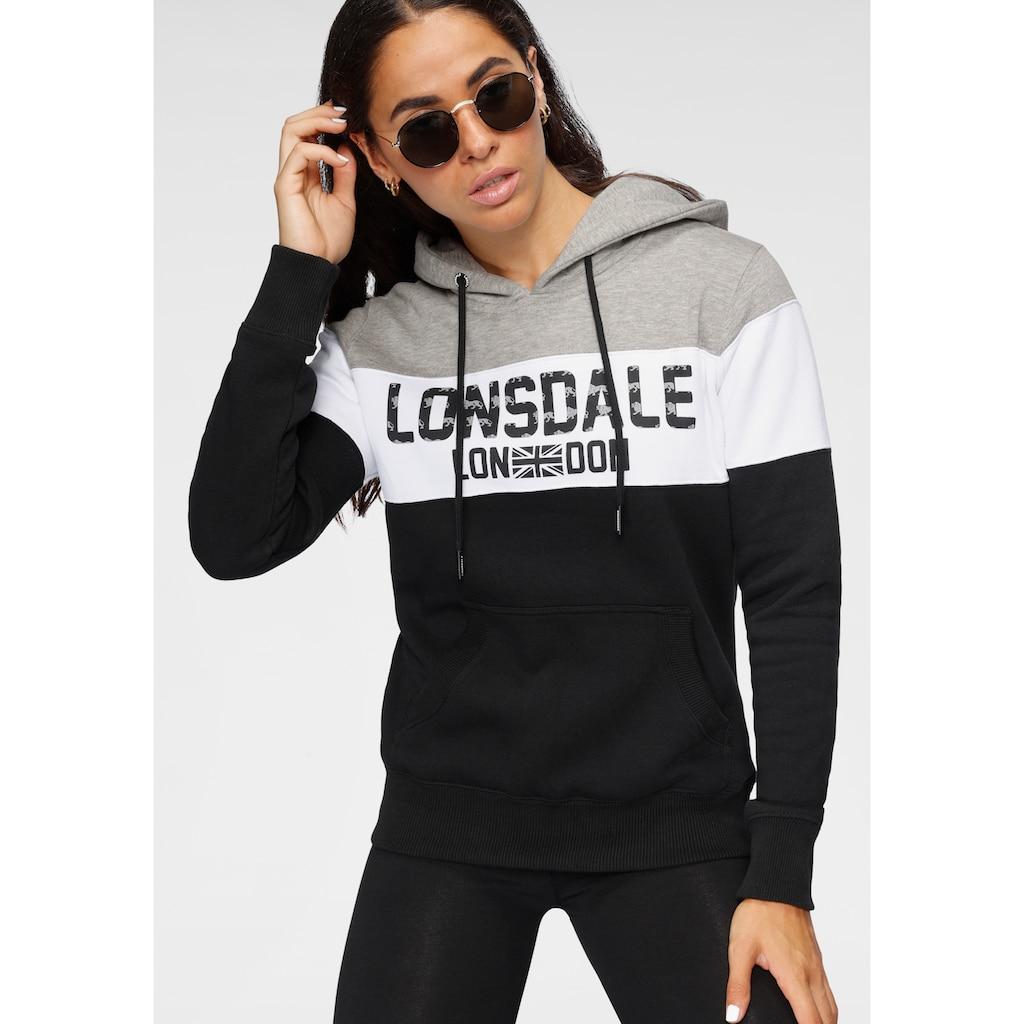 Lonsdale Kapuzensweatshirt »PENBRYN«