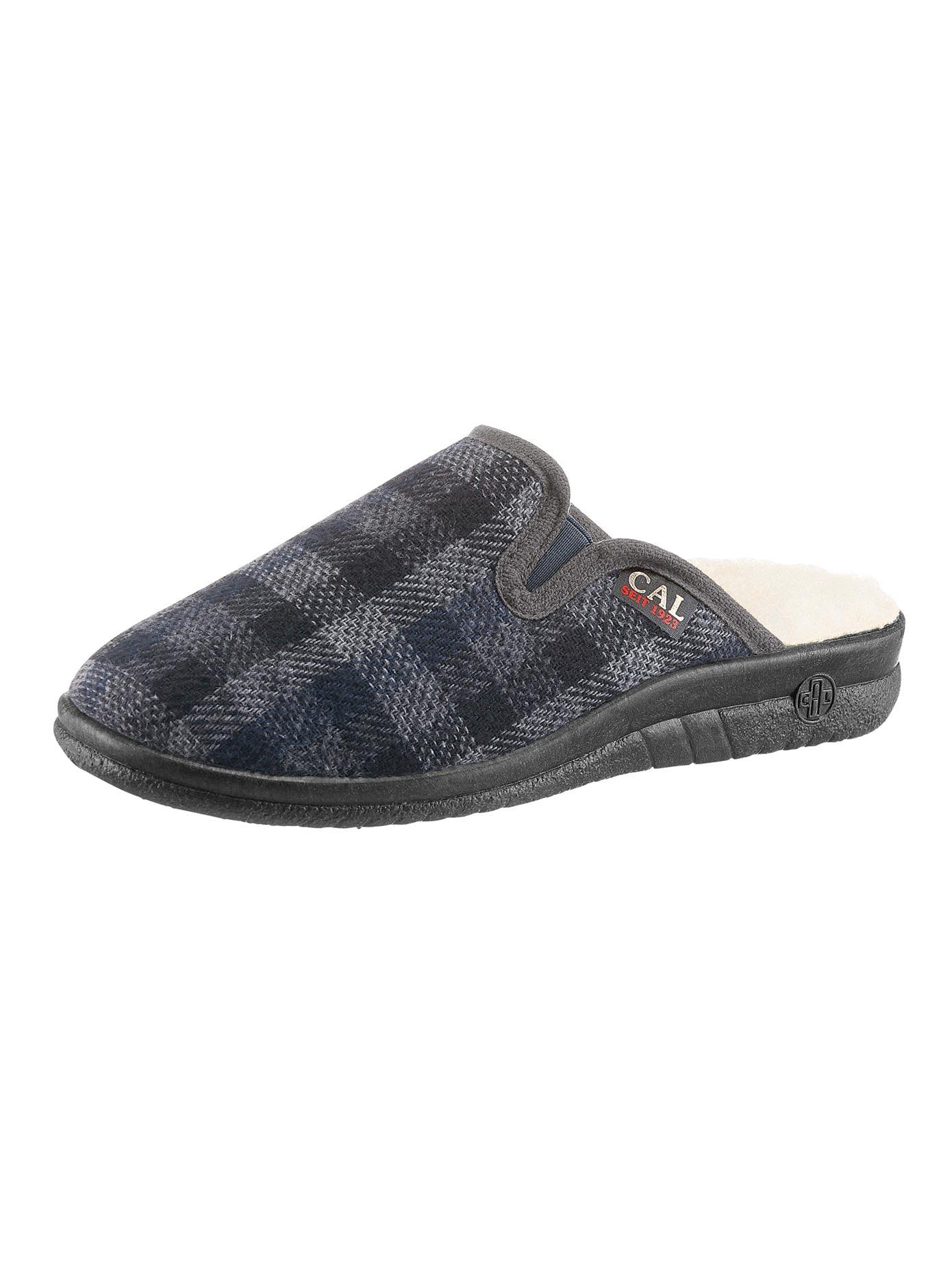 Landgraf Pantoffel mit Wörishofer Fußbett | Schuhe > Hausschuhe > Pantoffeln | Grau | Classic