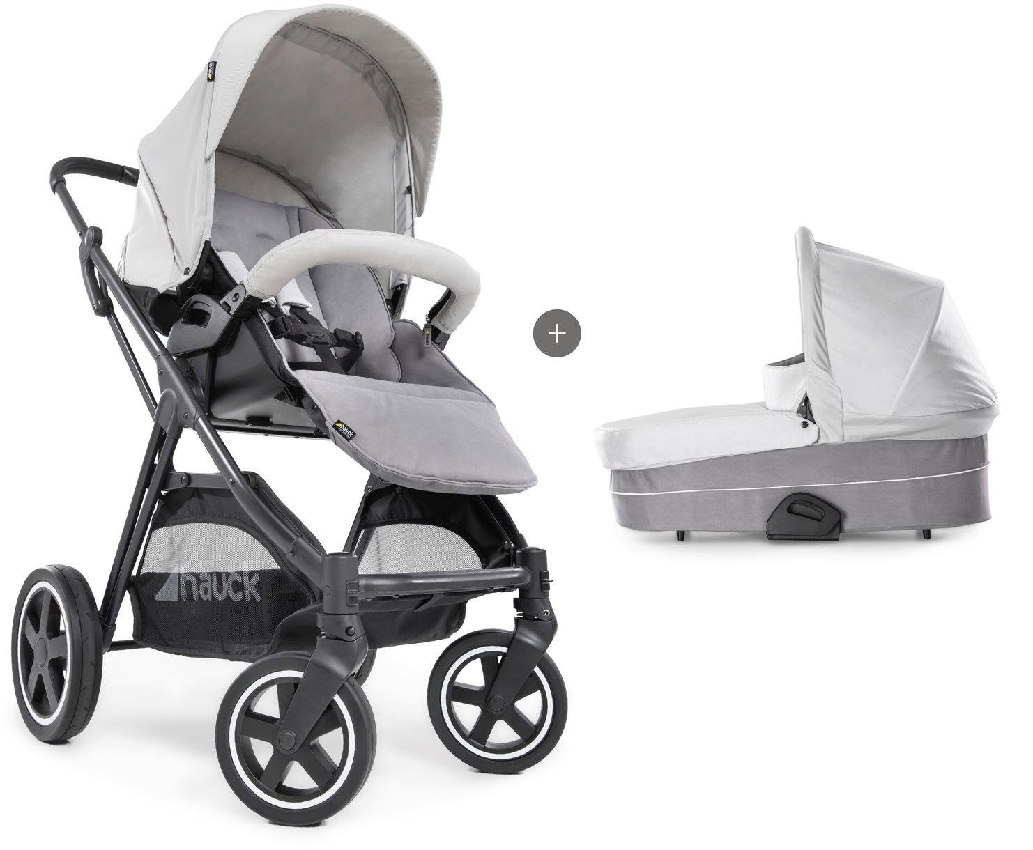 "Hauck Kombi-Kinderwagen ""iPro Mars Duoset Lunar/Stone"" Kindermode/Ausstattung/Kinderwagen & Buggies/Kinderwagen/Kombikinderwagen"