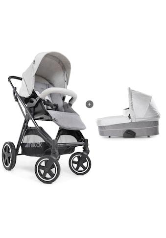 Hauck Kombi-Kinderwagen »iPro Mars Duoset, Lunar/Stone«, mit Babywanne; Kinderwagen kaufen