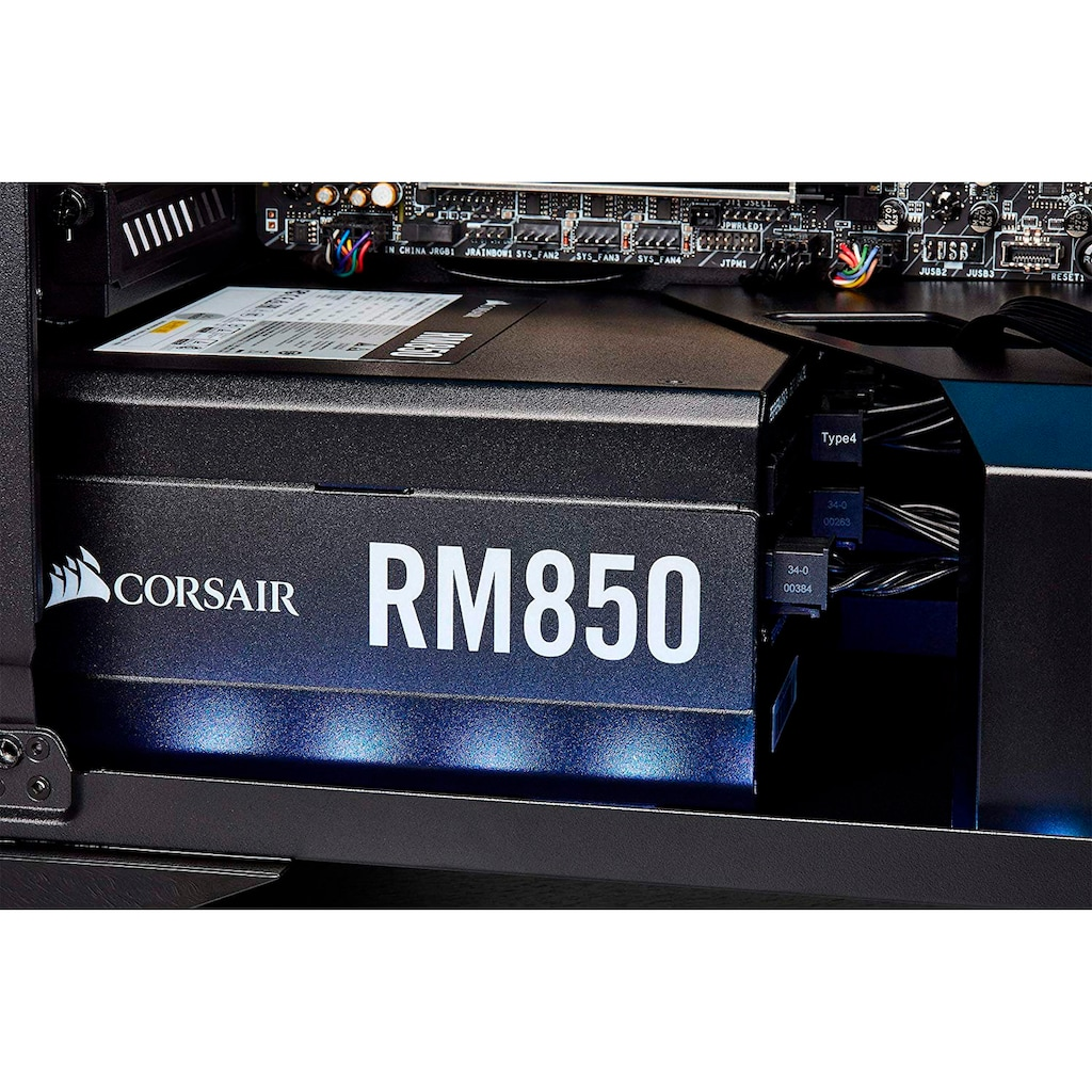 Corsair PC-Netzteil »RM850 80 PLUS Gold Fully Modular ATX Power Supply«