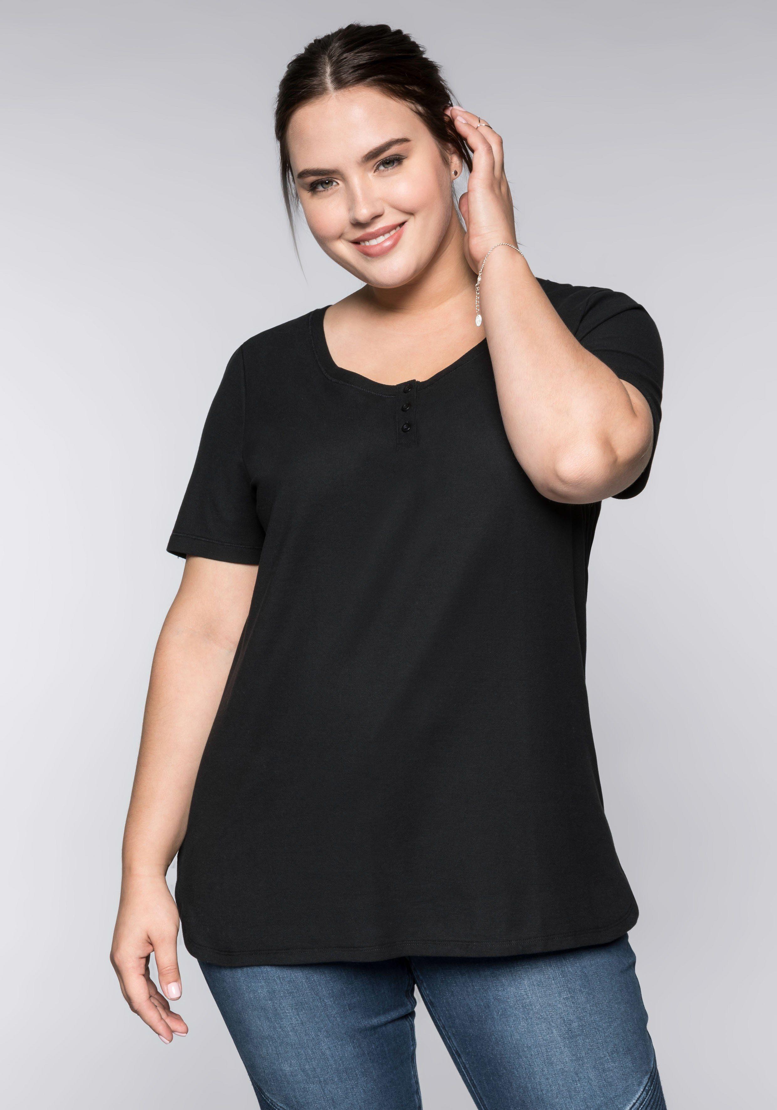 bekannte Marke offizieller Verkauf Super Qualität Sheego Longshirt