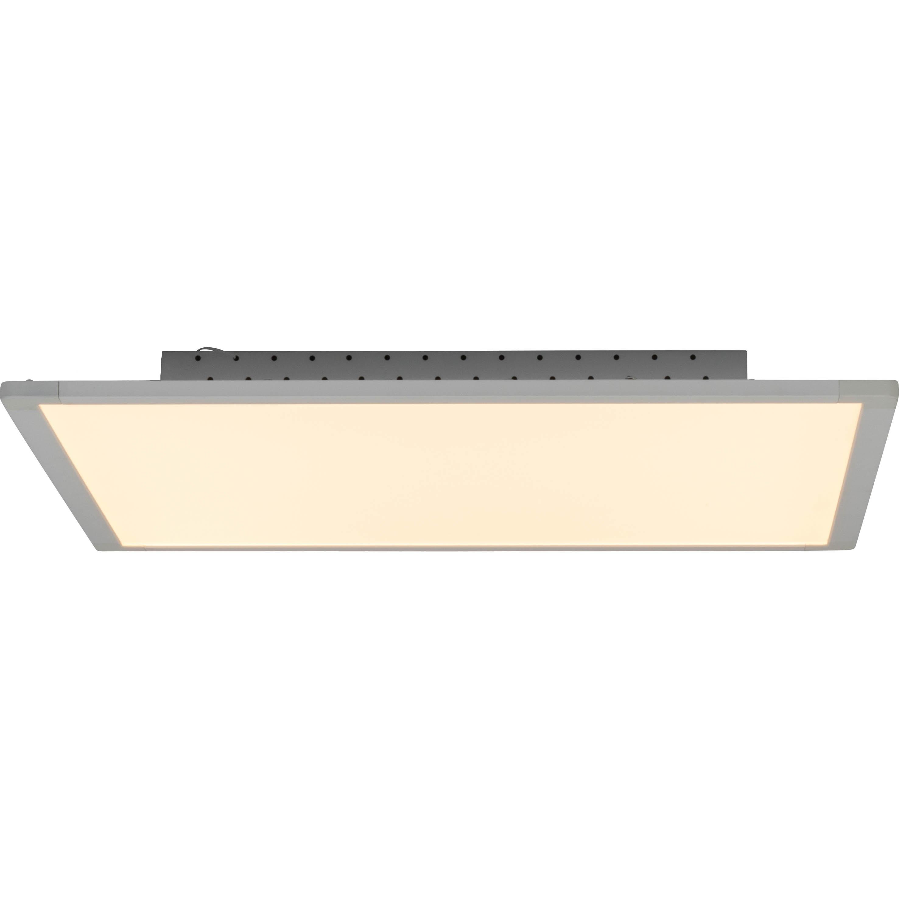 Brilliant Leuchten Flavia LED Deckenaufbau-Paneel 60x60cm weiß