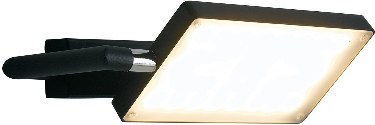 LUCE Design LED Wandleuchte LED-BOOK-AP-NERO, LED-Modul, 1 St., Warmweiß