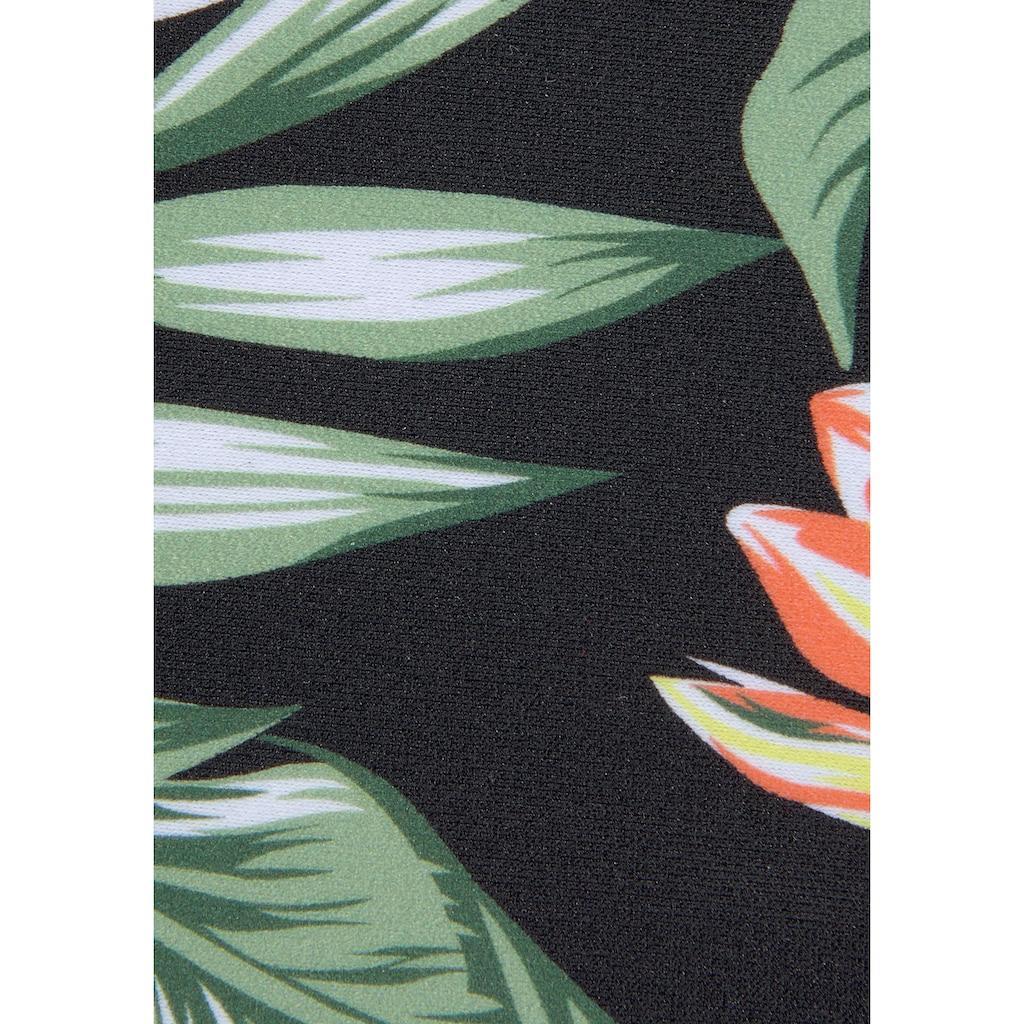 s.Oliver Triangel-Bikini, mit aktuellem Tropenprint