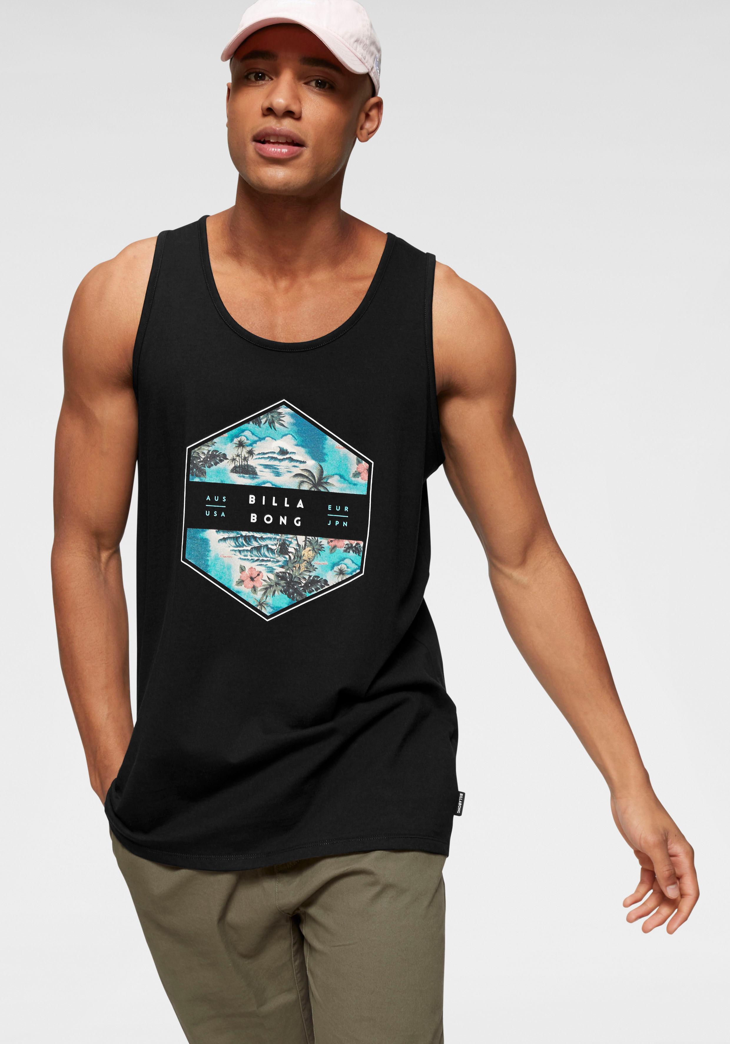 Billabong Tanktop ACCESS TANK | Bekleidung > Shirts > Tank Tops | Schwarz | Billabong Herren